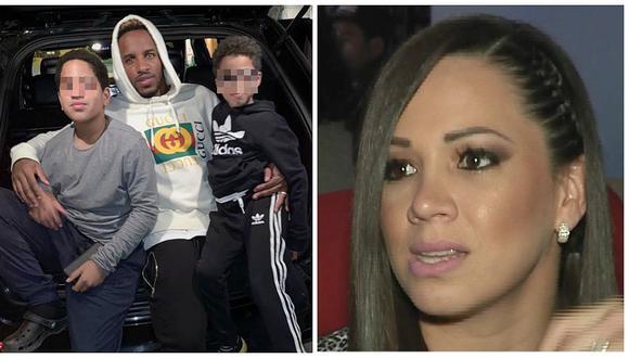 Chalaca no baja la guardia y reclama al futbolista más atención para sus hijos. (Instagram)