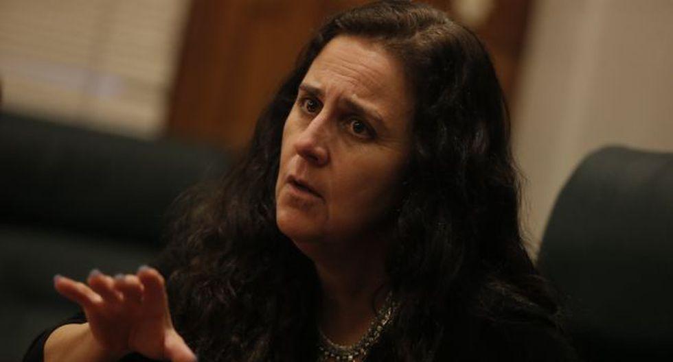Ministra de Salud, Patricia García, dijo que con la salida de Thorne el Perú pierde a un gran profesional. (USI)