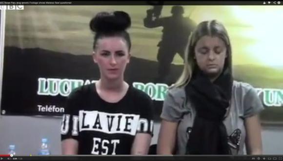 Policía difunde videos de la detención de bellas jóvenes. (YouTube)