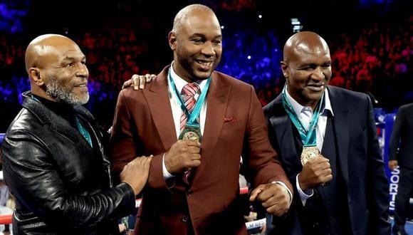 Evander Holyfield haría realidad sueño de aficionados al boxeo (Foto: Getty Images)