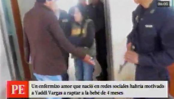 Mujer que secuestró a bebé y lo llevó a Apurimác lo hizo por un obsesivo amor (América TV)