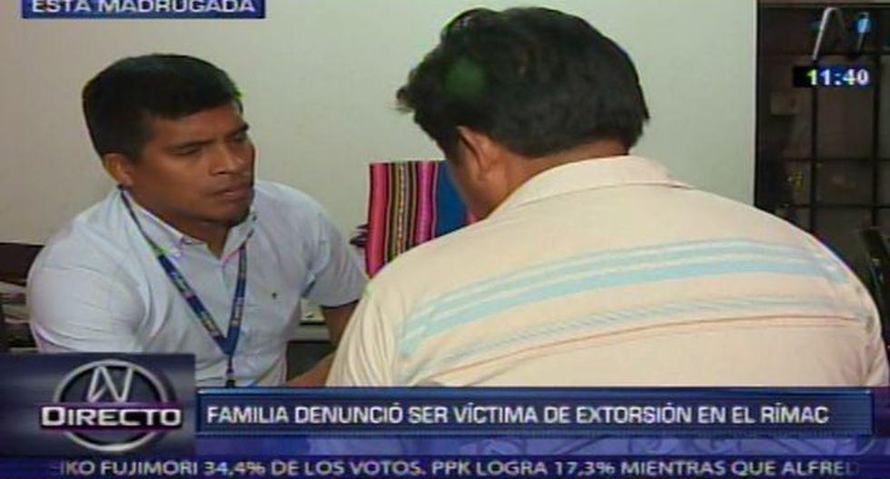 Rímac: Secuestraron a un niño de 9 años para extorsionar a su familia. (Captura de TV)