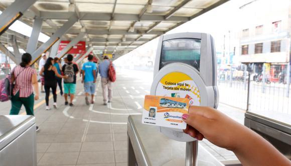 Para realizar el trámite, los padres pueden acudir a los Centros de Atención de Tarjetas de la Estación Central y los terminales Naranjal y Matelllini. (Foto: Municipalidad de Lima)