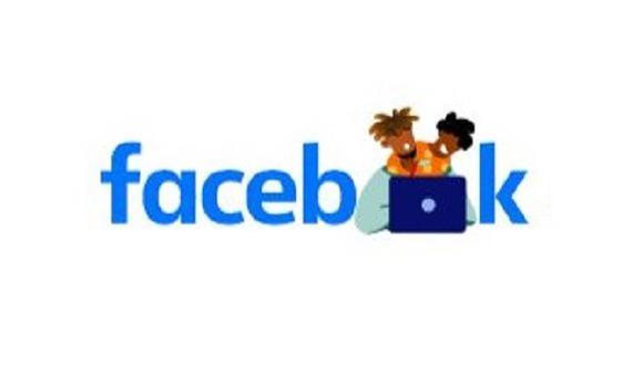 Así ha modificado Facebook el diseño de su nombre para recordar a los padres en su día. (Captura de pantalla)