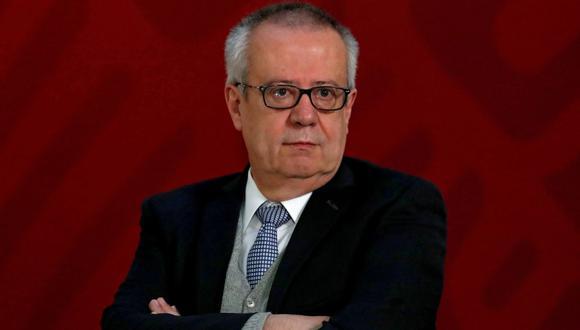 El secretario de Hacienda de México, Carlos Urzúa, se expresó en Twitter. (Foto: Reuters)