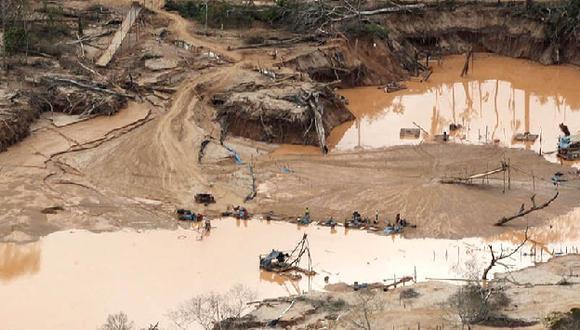 Ministro Daniel Urresti no da tregua a los mineros ilegales. (Difusión)
