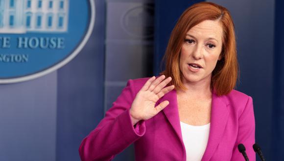 secretaria de prensa de la Casa Blanca, Jen Psaki. (Foto: EFE)