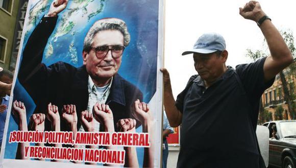 Movadef se presentó esta mañana en la sede del Jurado Nacional de Elecciones.  (Perú21)