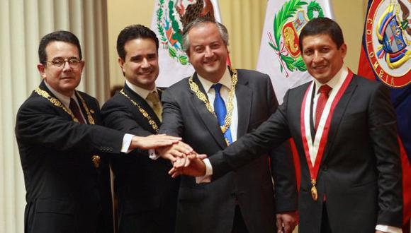 Nicolás Monckeberg en Lima. (Difusión)