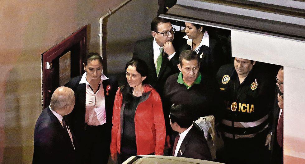 A la ex pareja presidencial se le dictó 18 meses de prisión preventiva. Se le investiga por el presunto delito de lavado de activos. (USI)