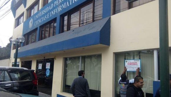 Los locales están ubicados en la avenida Talara. (Difusión)