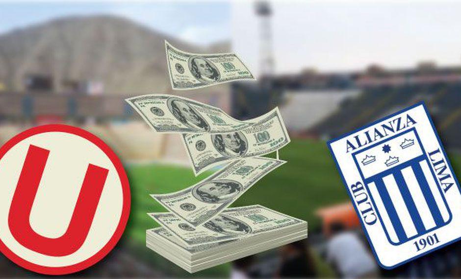 45% del ingreso que perciben estos clubes corresponde a derechos de transmisión televisiva. (Perú21)