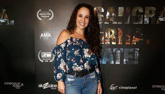 La reconocida actriz Érika Villalobos también participó en la creación del guión. (Créditos: Renzo Salazar)