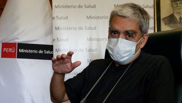 Farid Matuk fue parte del equipo que asesora al Ejecutivo en la lucha contra el coronavirus. (Foto: Minsa)