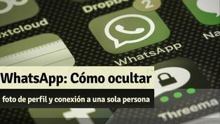 Whatsapp: Así puedes ocultar tu foto de perfil y conexión a una sola persona
