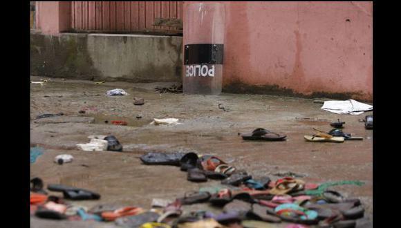 Las estampidas son habituales en lugares religiosos de países del sudeste asiático durante dádivas de caridad. (AP)