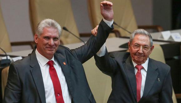 Miguel Díaz-Canel asegura que continuará con la Revolución Cubana. (AFP)
