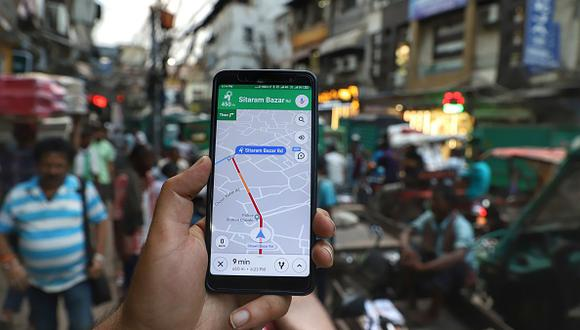 Google Maps: ¿Como medir las distancias en el mapa de Google? Esta es la mejor forma de calcular la distancia y el tiempo. (Getty)