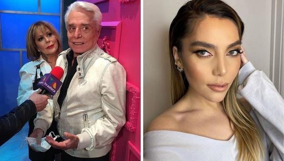 """Enrique Guzmán llamó """"diabólica"""" a su nieta Frida Sofía tras acusaciones de abuso sexual en su infancia. (Foto: Instagram @ifridag / @enriqueguzmanoficial)."""
