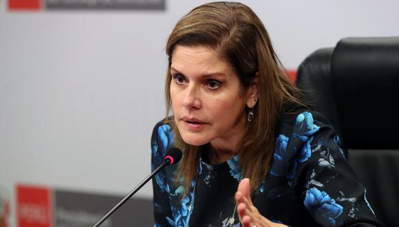 Mercedes Aráoz descartó que hay un debate sobre si existe o no un plan de gobernabilidad.