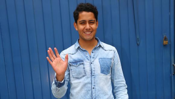 El actor interpreta a 'Jhonny' en la telenovela 'Ven, baila quinceañera'. (Créditos: USI)