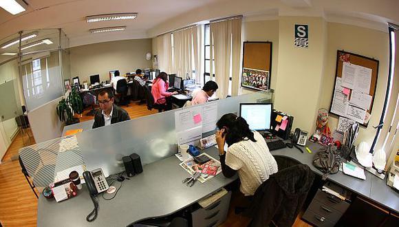 La cifra de empleos adecuados equivale a 201,600 personas. (Referencial/USI)
