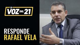 Fiscal Rafael Vela responde