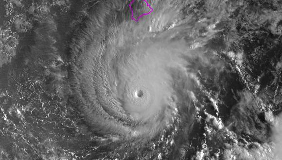 """""""El huracán Lane no es un huracán de buen comportamiento"""", advirtió elgobernador de Hawái, David Ige. (Foto: AFP)"""