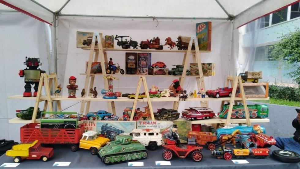 Festival del juguete. Una colección con más de cien juguetes clásicos de diferentes épocas. (Foto: Difusión)