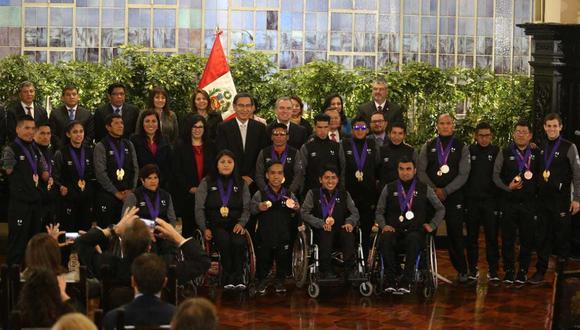 Los medallistas de los Parapanamericanos dieron una lección de superación. (GEC)