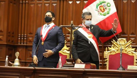 Manuel Merino asumió la presidencia por los próximos ocho meses (Foto: Congreso).