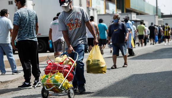 Estabilidad. Peruanos acatan medidas sanitarias para evitar el contagio del coronavirus. (Miguel Yovera/ GEC)