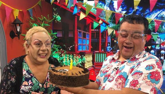 Jorge Benavides sorprendió al 'Chorri' Walter Ramírez por sus santo. (Instagram El Wasap de JB)