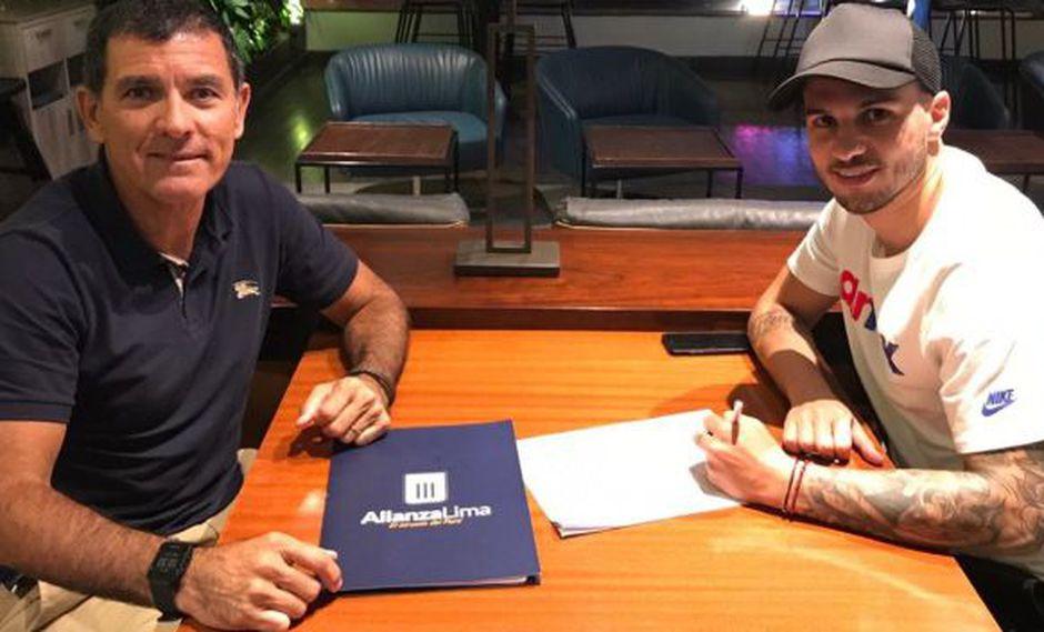 Alianza Lima anunció el fichaje de Felipe Rodríguez. (Foto: Alianza Lima)