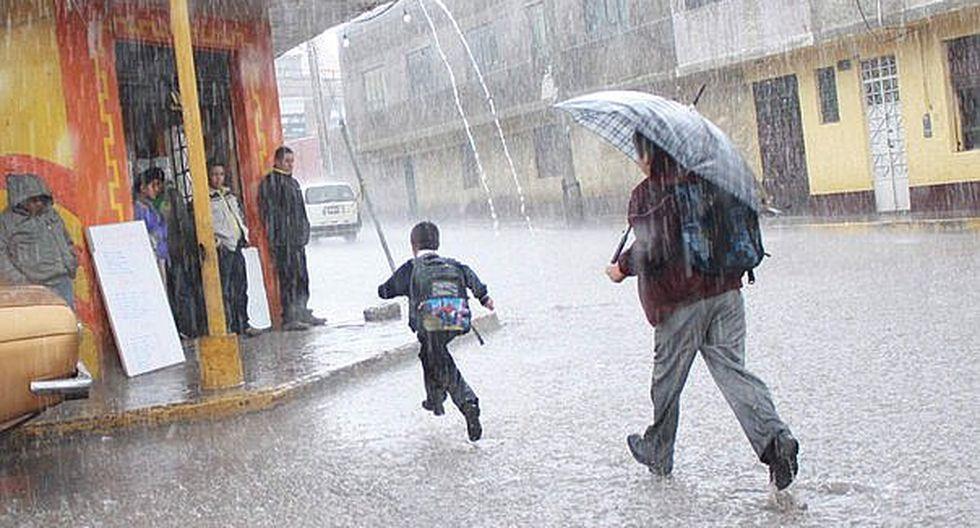Cuidado. Ocurrirán lluvias intensas en 15 regiones del país. (FOTO: GEC)