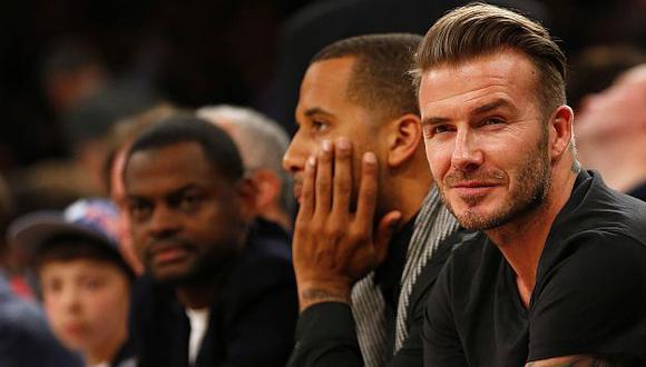 David Beckham tendrá su equipo de fútbol en Miami. (AFP)