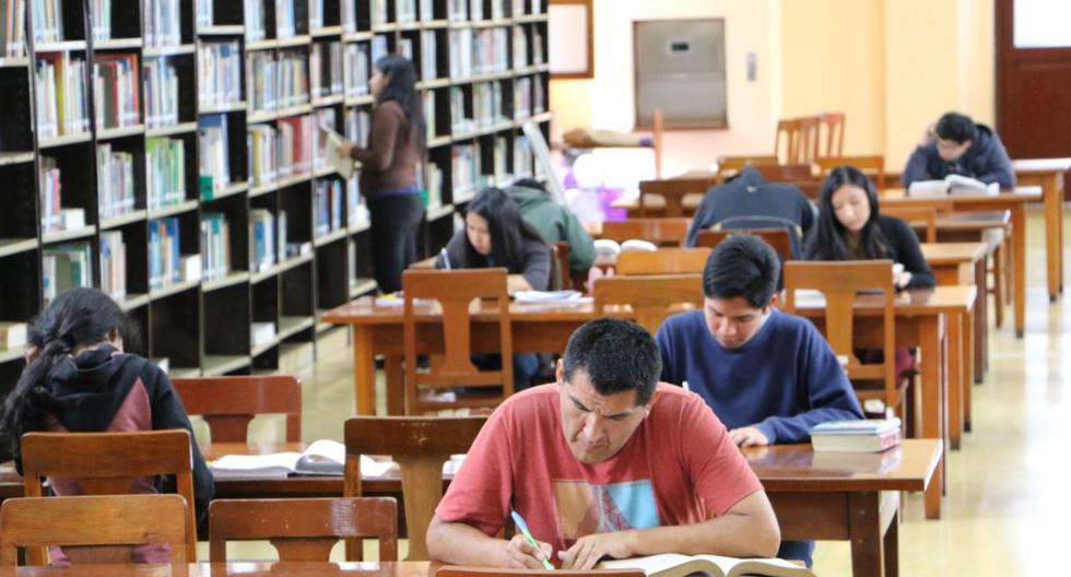 Gran Biblioteca Pública de Lima reabrió la Sala de estudio y la Mediateca