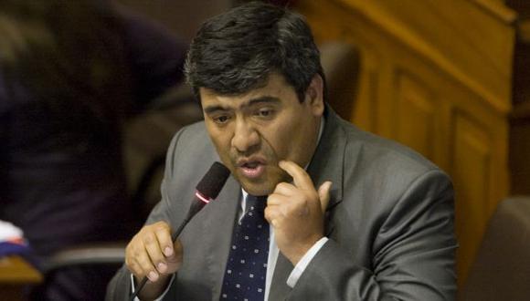 Tenía su audio. A Wilder Ruiz se le escucha pedir que estos acuerdos se mantengan en secreto. (Martín Pauca)