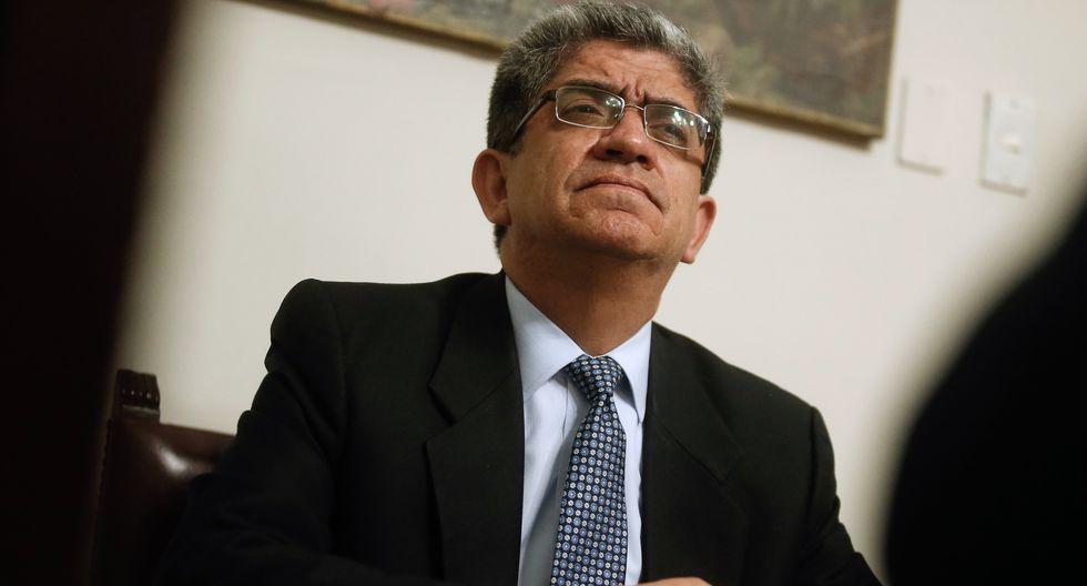 Magistrado del Tribunal Constitucional (TC), José Luis Sardón. (GEC)