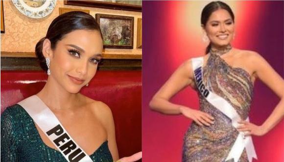 Janick Maceta pide que paren ataques contra Miss México. (Foto: @andreamezamx/ @janickmaceta)