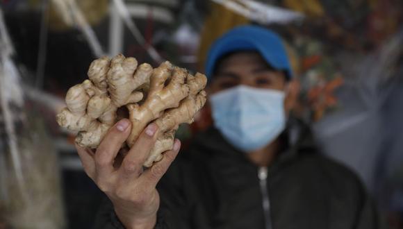 El kion peruano tiene gran demanda en mercados como Estados Unidos y Países Bajos. (Foto: EFE)