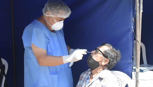 Lambayeque: Geresa envía 60 muestras al INS para determinar presencia de variante brasileña en la región (Foto: Geresa Lambayeque)