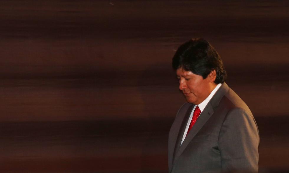 "Jhonny Baldovino: ""La FIFA no va a mover ni un dedo"" por el presidente de la FPF. (USI)"