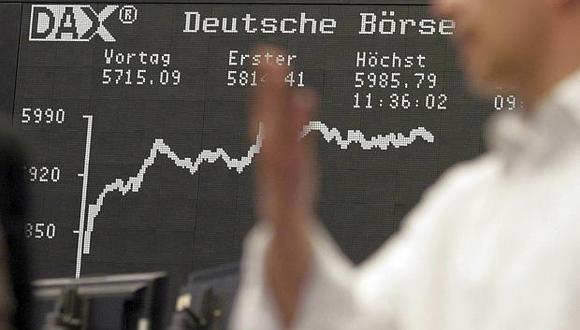 En Frankfurt, el índice DAX 30 cedió0.69% este jueves. (Foto: Reuters)