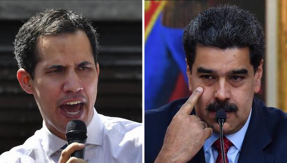 """El Tribunal de Apelación de Inglaterra ha concedido al Banco Central de Venezuela el recurso de apelación en contra de la sentencia realizada por un juez el pasado 2 de julio, la cual reconocía a Juan Guaidó como """"presidente constitucional interino de Venezuela"""". (Foto: Yuri CORTEZ / AFP)"""