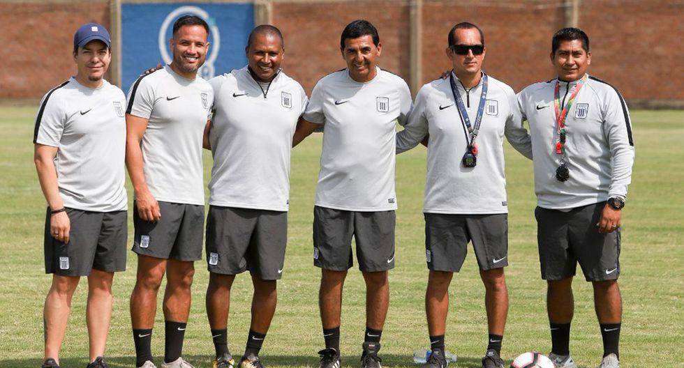 Este será el nuevo comando técnico de Alianza Lima. (Foto: Alianza Lima)