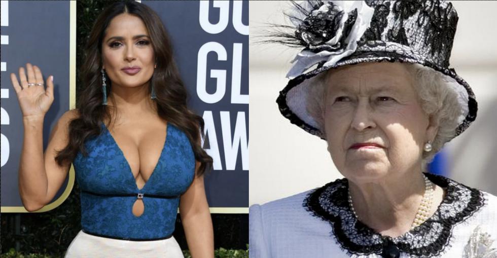 Salma Hayek supera la fortuna de la Reina Isabel II. (EFE)