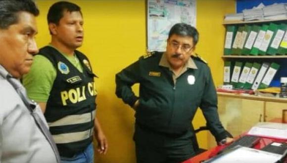 Agente era responsable de la Sección de Tránsito de comisaría. (Ministerio Público)