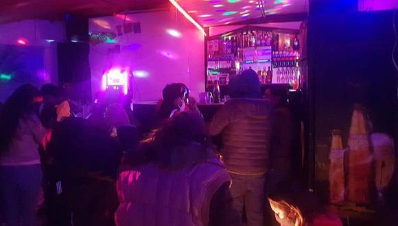 Cusco: Intervienen vivienda que funcionaba como discoteca y encuentran a más de 20 personas festejando (Foto: Juan Sequeiros)