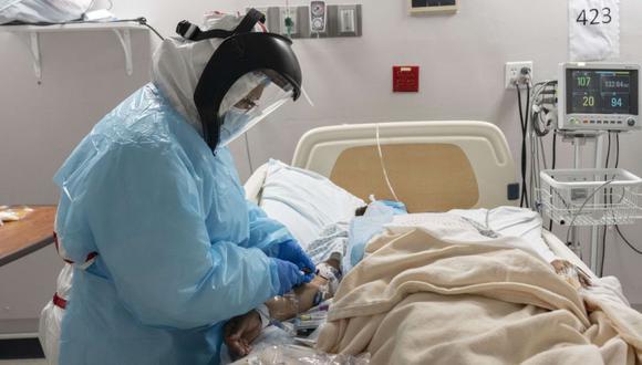Estados Unidos bate su récord de casos de coronavirus por segundo día consecutivo. (Go Nakamura/Getty Images/AFP).